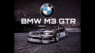 Need For Speed Carbon BMW M3 GTR Quick Race