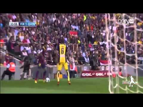 FC Barcelona vs. Atletico Madrid All Goals and Highlights 2013/2014 HD