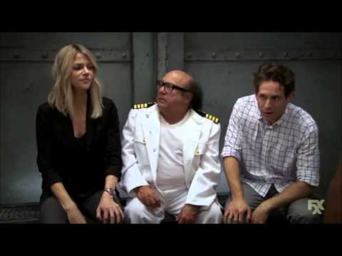 It's always sunny in philadelphia: dee as obama and dennis as CCH Pounder