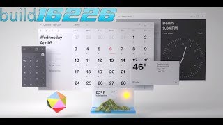 Windows 10 - build 16226 new UI changes, Edge improvements