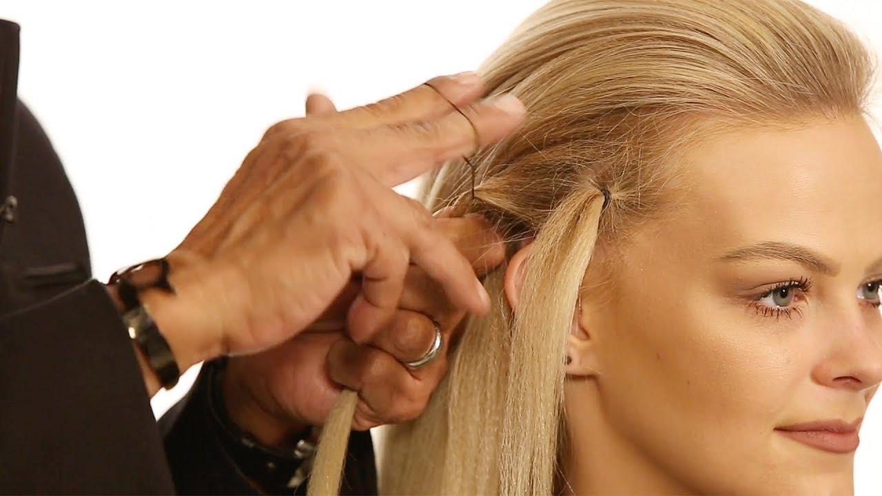 Hair Hack  How To Quickly Twist   Tie a Hair Elastic - YouTube c72ac2b1adb