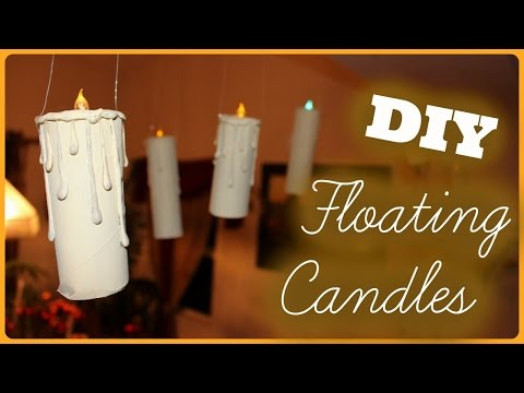 DIY Floating Candles *Harry Potter inspired*