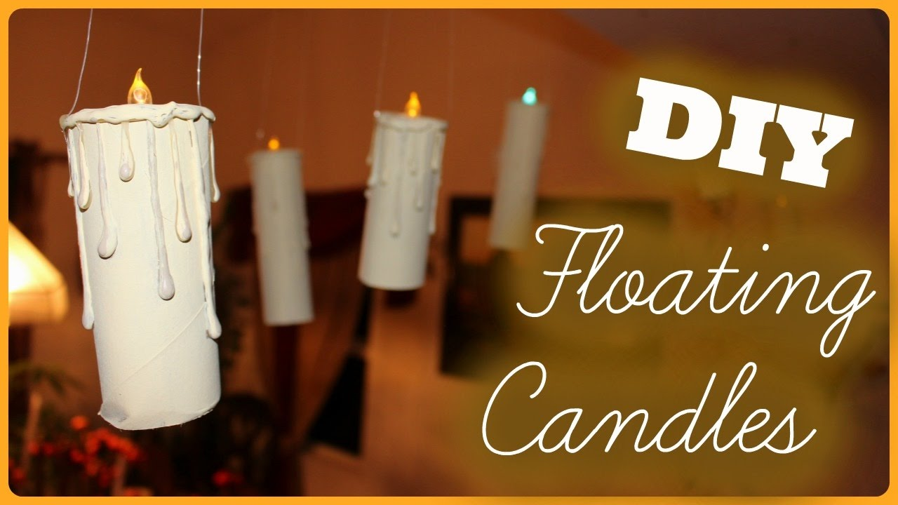 Diy Floating Candles Harry Potter Inspired Youtube