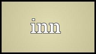 Inn Meaning