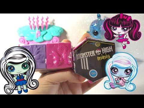 Lilla Unboxing/ Shopkins 7 Serie e Monster High Minis❤ Mattel
