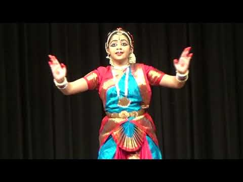 Varnam Unai Nambi song Bharathanatyam Arangetram Sow.Ananyaa Chakrapani ( Guru Smt.Rajee Narayan