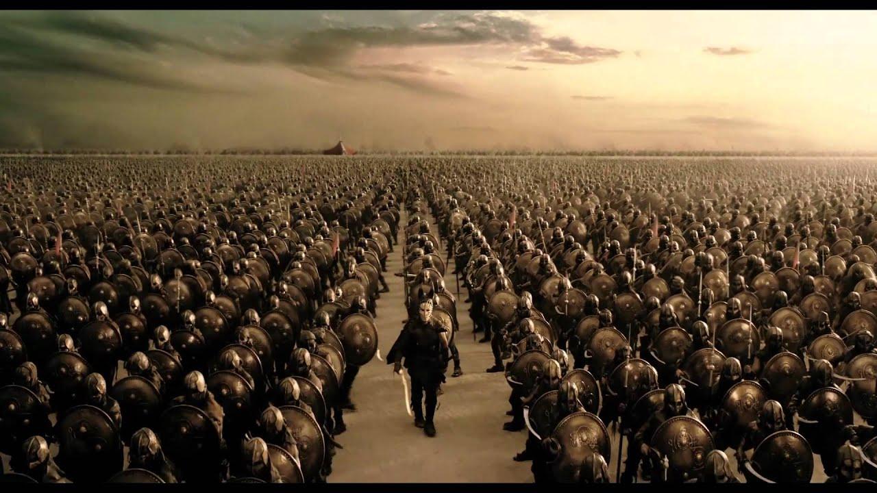 Krieg der Götter ...