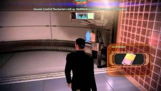 """Mass Effect 2"", HD walkthrough on Insanity, Part 45 - Kasumi: Stealing Memory, 1/2"