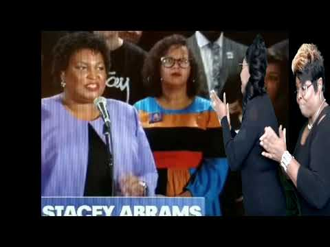 Diamond And Silk direct message to Stacey Abrams