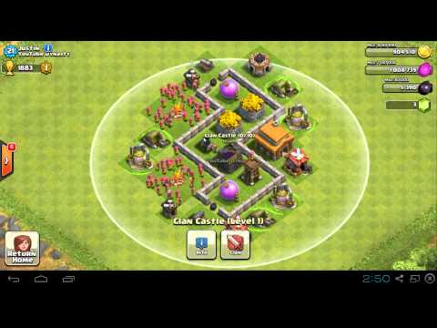Clash of Clans -  TH3 Farming Base Compilation, Maxed Out