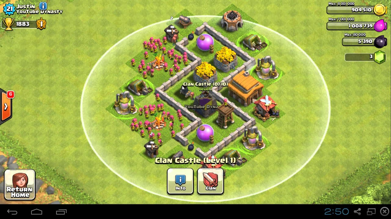 Clash Of Clans Th3 Farming Base Compilation Maxed Out Youtube
