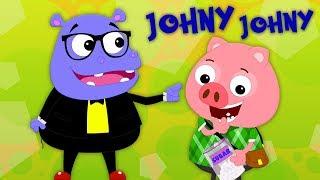 johny johny sim papa | Johny Johny Yes Papa | Preschool Português | Rimas de berçário para bebês