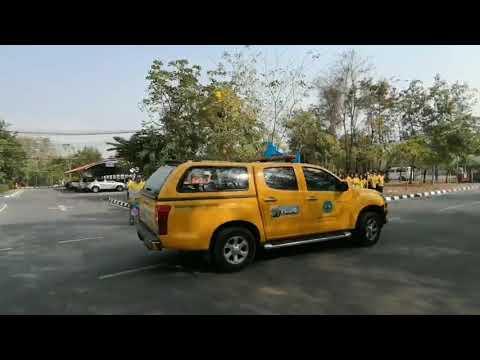 ขบวนรถอำนวยความปลอดภัยช่วงเทศกาลปีใหม่ 2563 โดยสำนักงานทางหลวงชนบทที่ 5 (นครราชสีมา)