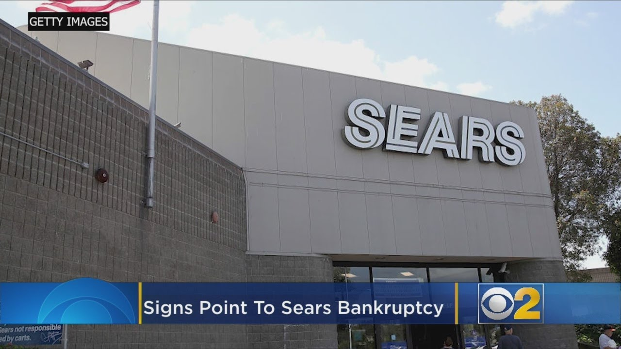 Sears Might Be Days Away From Filing For Bankruptcy