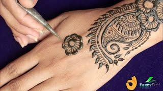 New Hand Mehndi Design Easy | Simple and Fast Mehndi Design
