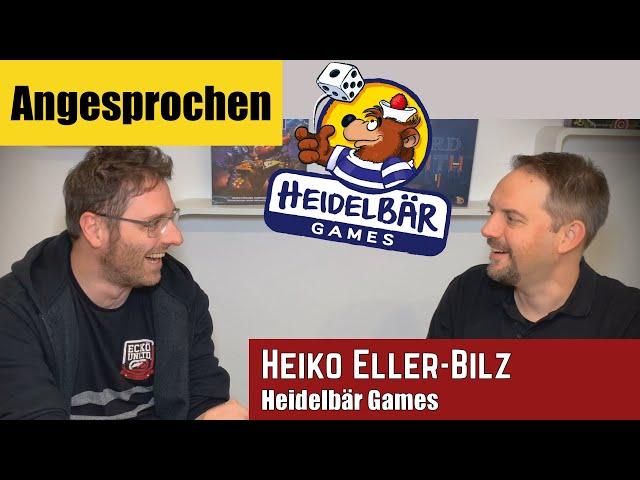 Angesprochen - Heiko Eller-Bilz (Heidelbär, Games Heidelberger Spieleverlag) im Interview