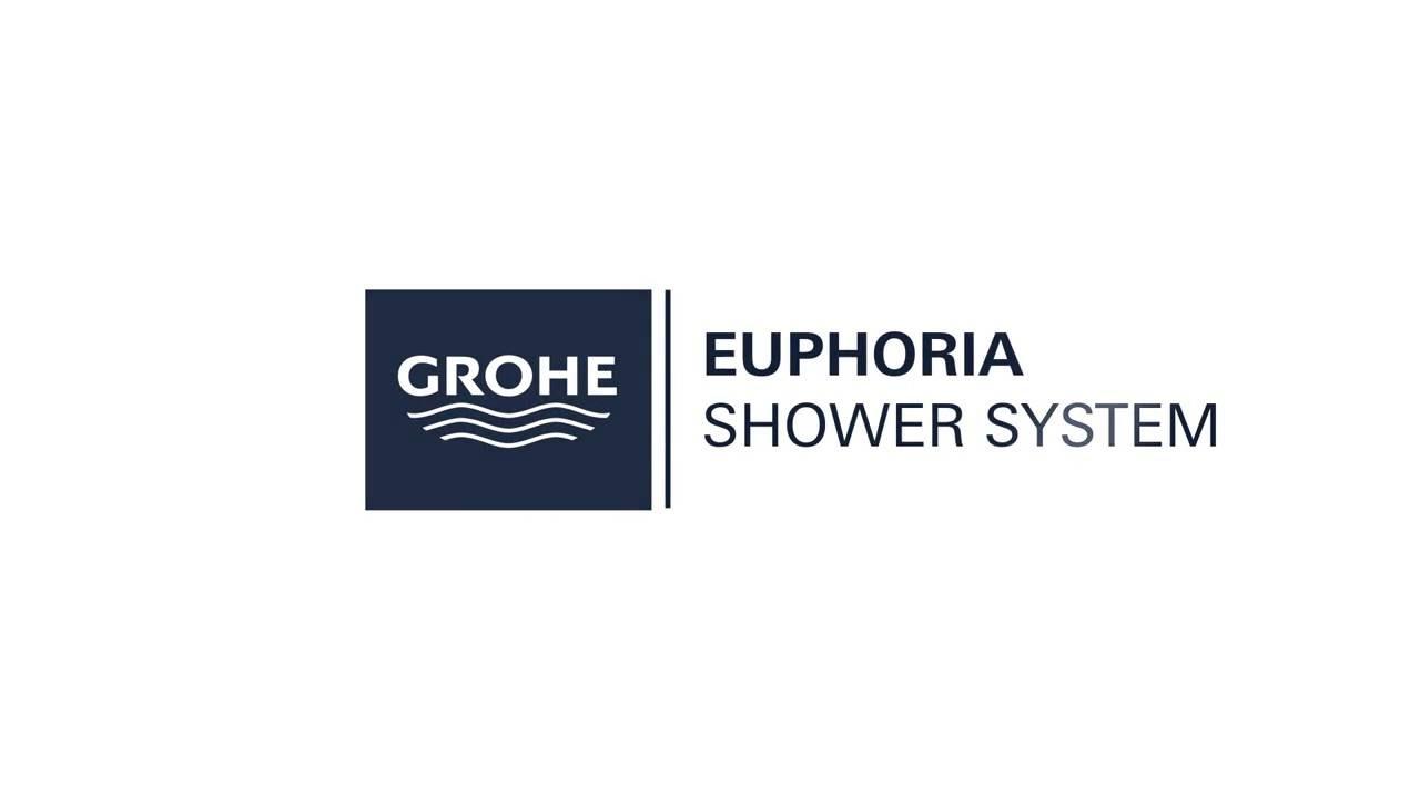 Innovativ GROHE Euphoria XXL 310 shower system with thermostat - YouTube UI02