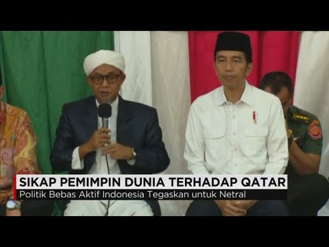 Presiden Jokowi Hubungi Sejumlah Pimpinan Negara Timur Tengah Untuk Atasi Masalah Qatar