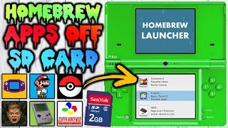 Get HomeBrew Apps For Your DSi