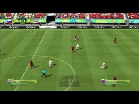 2014 FIFA World Cup Brazil Simulation - Match 56 - Russia vs United States Round Of 16