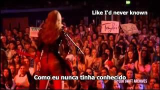 Taylor Swift - Red (legendado/letra)