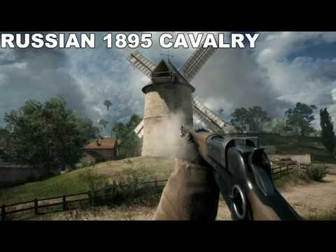 Battlefield 1 All Weapon Reload Animations & Sounds [1440p 60fps, ULTRA DETAILS, PC ]