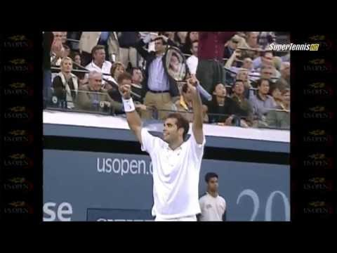 Sampras - Agassi US Open 2001 Quarterfinal