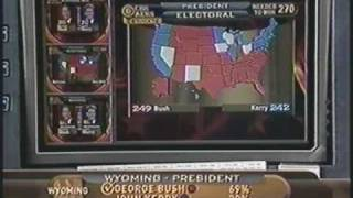 Election Night 2004 - from CBS - part 9!!