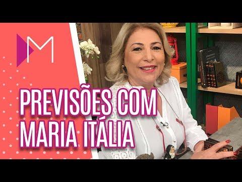 Previsões com Maria Itália - Mulheres (05/07/2018)