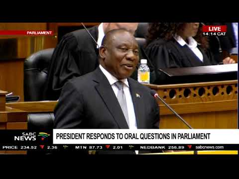 President Ramaphosa on his son's links to Bosasa