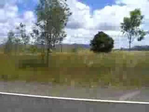 Overtaking near Rockhampton