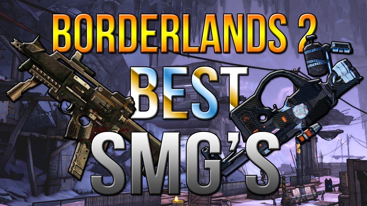 borderlands 2 best in slot smg