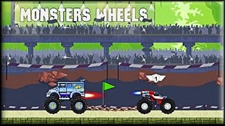 Monsters Wheels 2 Game
