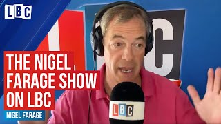 The Nigel Farage Show: US protests - was Trump's response yesterday right or wrong?  | Live on LBC