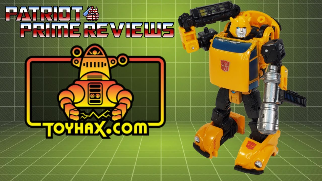 Patriot Prime Reviews Toyhax Decal Set for Earthrise Bumblebee