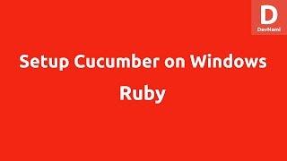 Ruby Cucumber Installation on Windows