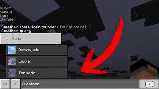 Como Hacer un Tornado Épico Arrasador En Minecraft - Trucos (PE 1.2 PS4 Xbox Pocket Edition)
