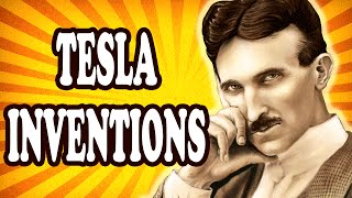 Top 10 Greatest Inventions by Nikola Tesla