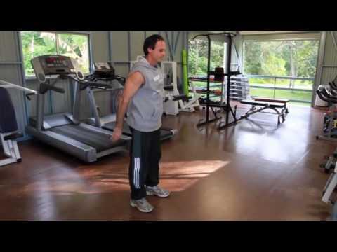 Easy Bodyweight Exercises / Living Valley Health Retreat / Sunshine Coast