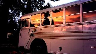 School Bus Life: Saturday Morning Breakfast