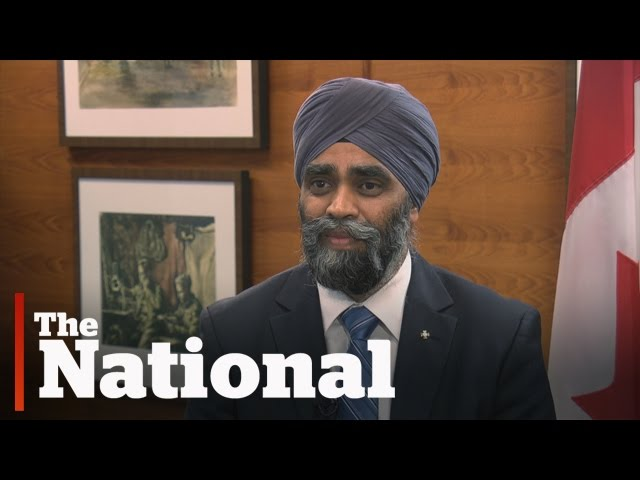 """Canadians needn't fear ISIS"" Defence Minister Harjit Sajjan"
