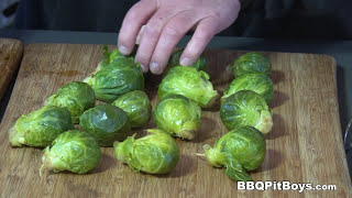 Bacon Brussels Sprouts recipe by the BBQ Pit Boys