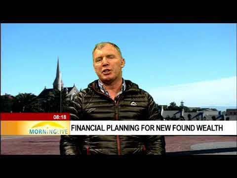 Financial planning for new found wealth