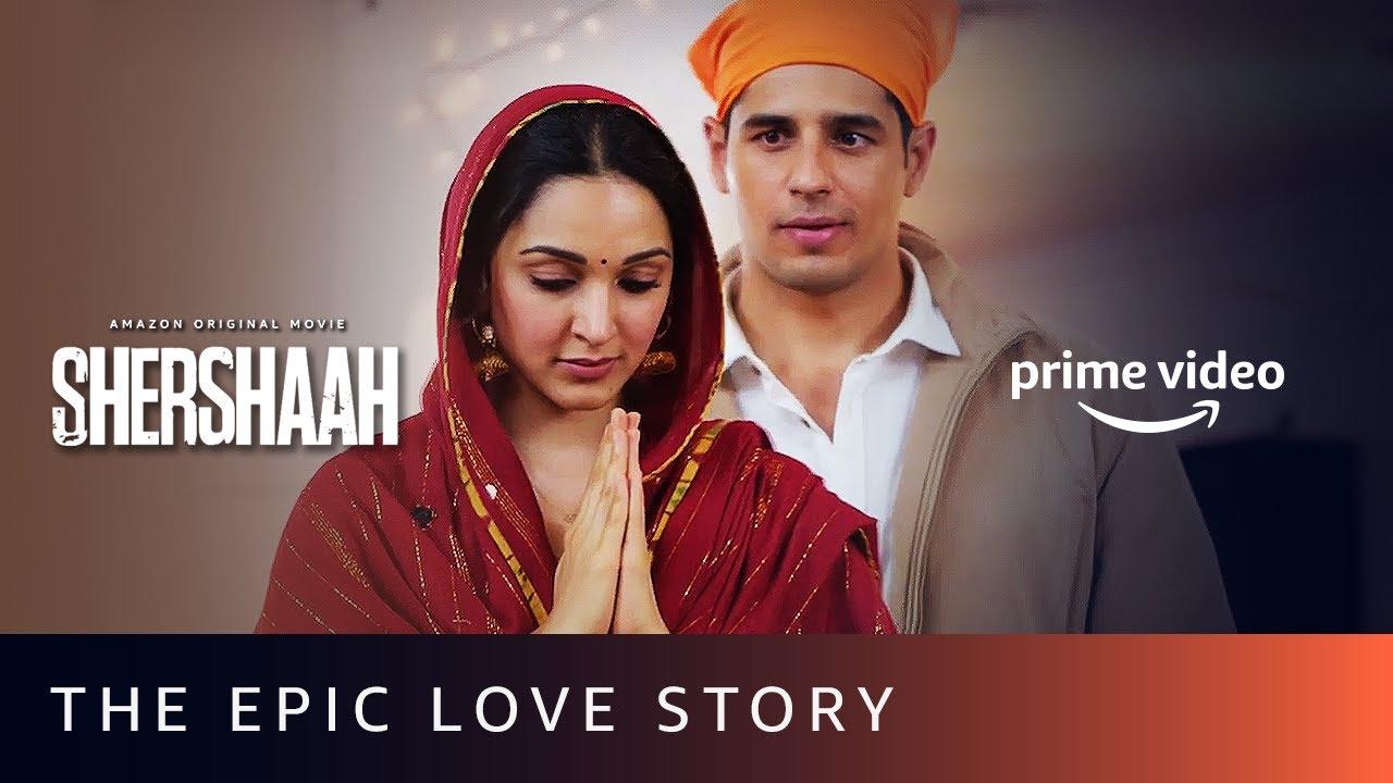 The Epic Love Story – Shershaah   Dimple and Captain Vikram Batra   Sidharth Malhotra, Kiara Advani