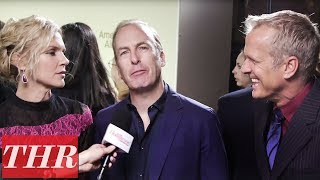 Bob Odenkirk, Rhea Seehorn, & Patrick Fabian on 'Better Call Saul' International Appeal | THR