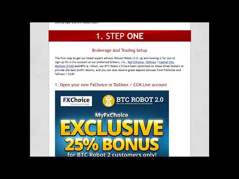 BTC Robot 2.0 - Intro to BTCR & Broker registrations