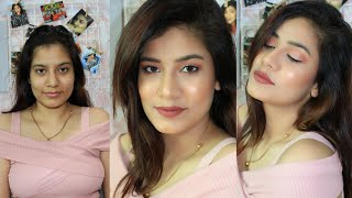 🌞Summer Glowing Long Lasting Makeup Look || Sweat Proof Tips & Tricks😍 || MakeupLoverSejal