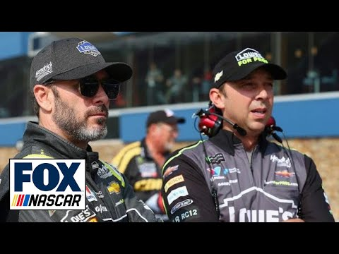 Dave Moody sounds off on Jimmie Johnson and Chad Knaus separating at end of 2018 | NASCAR RACE HUB