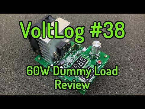 Voltlog #38 - 60W Electronic DC Load Review ZPB30A1