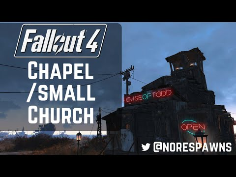 Fallout 4 - Building a Chapel or Small Church